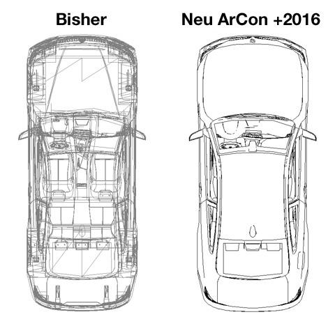 2D Ersatzdarstellung importierter Objekte: ArCon +2016
