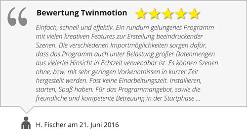 Bewertung Twinmotion
