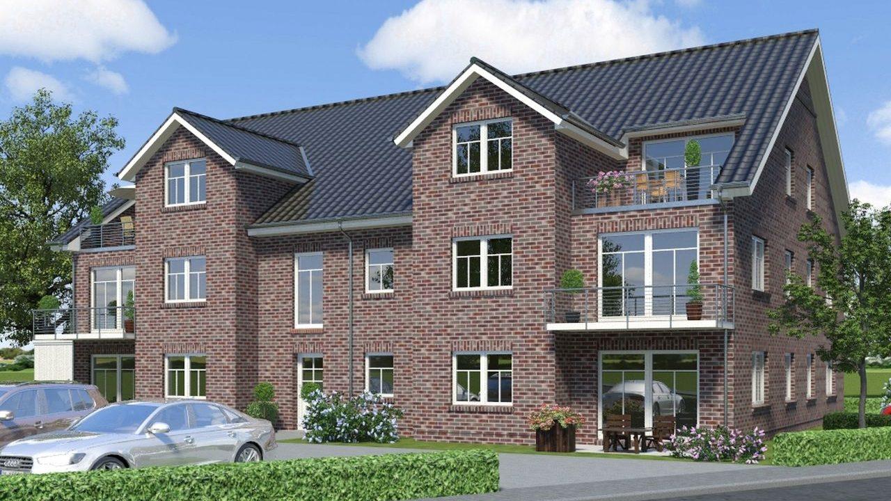 Mehrfamilienhaus Visualisierung mit ArCon