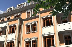 Außenansichten - Mehrfamilienhäuser
